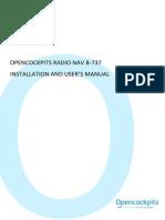 Installation and User's Manual Nav b737