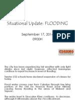 CDRRMC Typhoon LuiCDRRMC Typhoon Luis Flood Update #2s Flood Update #2