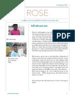 roses newsletter