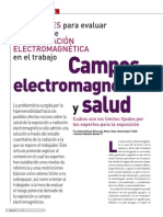 Los Campos Electromagnéticos y La Salud