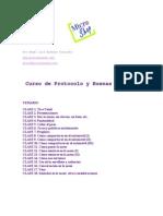 Angel Luis Almaraz Gonzalez - Curso de Protocolo Y Buenas Maneras