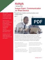 Avaya Flare Communicator for iPad Device (2) UC4798