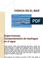 Supervivencia en La Mar 3