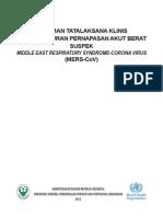 4- Pedoman Tatalaksana Klinis ISPA Berat Suspek MERS CoV