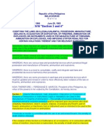 PD 1866 Amended by RA 9516