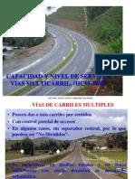 c y n.s. Vias Multicarril