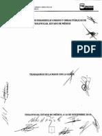 Reglamento de Desarrollo Urbano y Obras Públicas