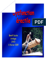 Dysfonction Erectile Ppt Fev 2009 1