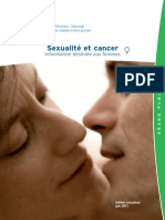 Sexualite Cancer Femme