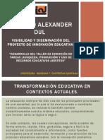 Innovacion Educativa, Visibilidad y Diseminación.