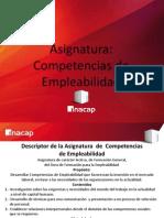 Asignatura Competencias de Empleabilidad - Primera Unidad