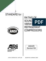 ANSI- ARI 530-2005