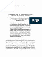 A Comprehensive Study of Pile Foundations in Coral Fomations and Calcareous Sediments