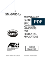 ANSI- ARI 620-2004