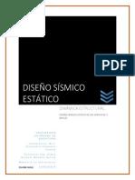 Ejemplo de Analisis Sismico Estatico de Un Edificio