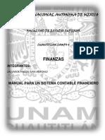 Manual de Un Sistema Contable Financiero