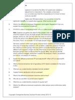 Analytics Practice Question