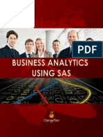 Business Analytics Using SAS