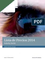 Lista de Precios 2014 Siemens