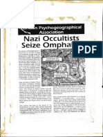 Nazi Occultists Seize Omphalos Says LPA