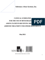 Benzo Guidelines FINAL May 2013