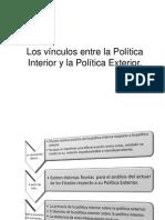 Los Vínculos Entre La Política Interior-Exteriorpptx