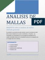 Analisis de Mallas (Manual de Uso)
