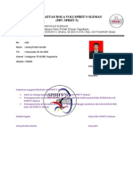 Format Kartu Anggota