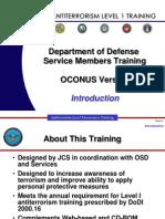 dod anti terror training