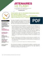 partenaires le flash 2014 - 16 septembre 2014