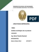 Analisis Morfologico Del Producto