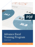 Excel Training Program Course Book