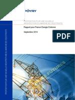 Proposition pour une nouvelle architecture du marché de l'électricité - France Energie Eolienne et Cabinet Pöyry