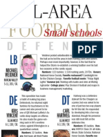 Journal Star Small Schools  All-Area Defense