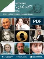 The International Agatha Christie Festival 2014