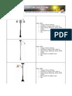 Brosur Tiang Lampu Solar Cell Dekoratif1