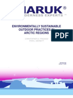 Environmentally Sustainable Outdoor Practices in Arctic Regions
