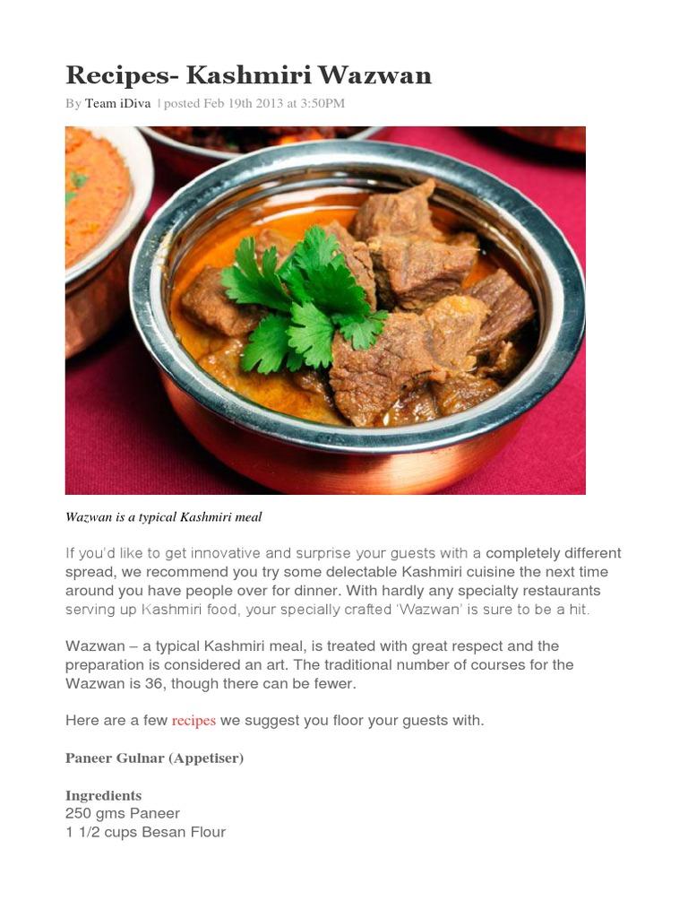 Recipes kashmiri wazwan chutney ginger forumfinder Images