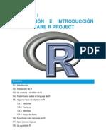 Capítulo i Instalación e Introducción a r