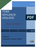Turk Soylence Sozlugu