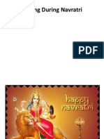 Fasting During Navratri