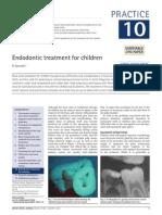 10Endodontic Treatment for Children