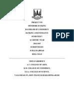 Final Idbi Bank Project
