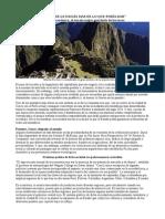 La Economia Del Machu Pichu