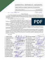 Declaratia fractiunii PLDM
