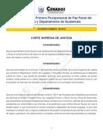 Acuerdo Creacion Juzgado Pluripersonal a58-2012