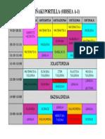 Ordutegia 2014-15 Kolorez