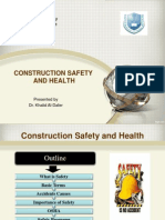 Construction Safety Lecture 1