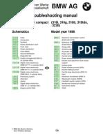 BMW 316i, 316g, 318ti, 318tds, 323ti (e36) Compact Elektrical Troubleshooting Manual