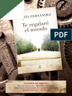 Fernández - Te Regalaré El Mundo - Dossier v.3 (1)